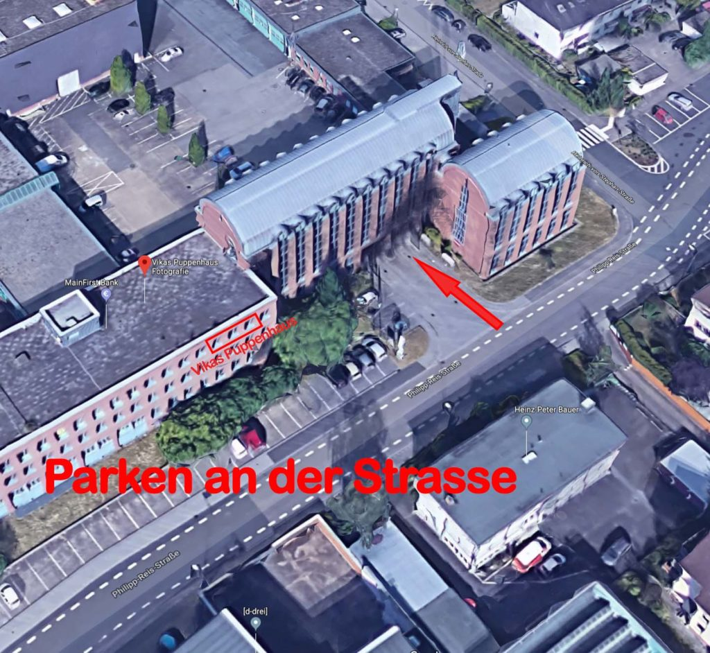 Wegbeschreibung zu Vikas Fotostudio in Heusenstamm